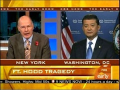 Harry Smith and Eric Shinseki, CBS