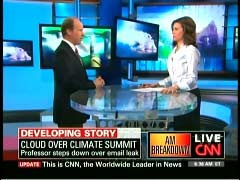 Peter Demenocal, Columbia University; & Kiran Chetry, CNN Anchor | NewsBusters.org