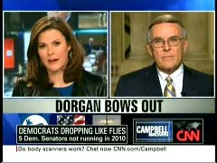 Campbell Brown, CNN Anchor; & Senator Byron Dorgan | NewsBusters.org