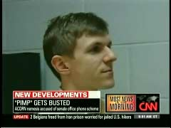 James O'Keefe, from file footage on CNN's American Morning | NewsBusters.org