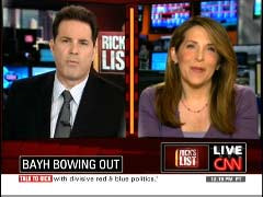 Rick Sanchez, CNN Anchor; & Jessica Yellin, CNN National Political Correspondent | NewsBusters.org