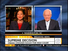 Jan Crawford and Bob Schieffer, CBS