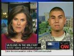 Campbell Brown, CNN Anchor; & U.S. Army Specialist Zachari Klawonn | NewsBusters.org