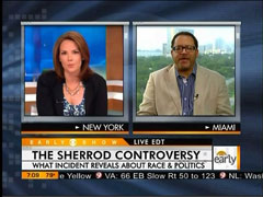 Erica Hill and Michael Eric Dyson, CBS