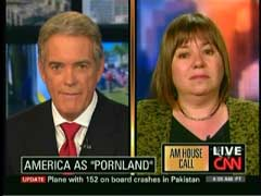 John Roberts, CNN Anchor; & Professor Gail Dines, Wheelock College | NewsBusters.org