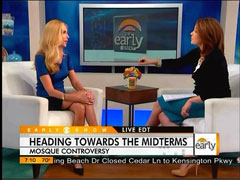 Erica Hill and Ann Coulter, CBS