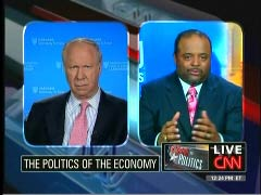 David Gergen, CNN Senior Political Analyst; & Roland Martin, CNN Contributor | Newsbusters.org